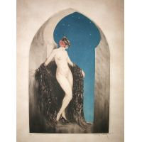 Nuit Espagnole / Spanish Night - L. Icart 1926