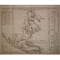 Nord America - America centrale - H. Chatelain 1707