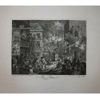 The Times - serie di 2 - Hogarth / Heath 1822