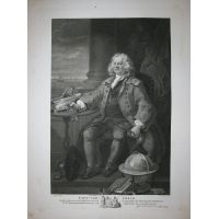 Capitano Thomas Coram - Hogarth / Heath 1822