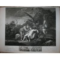 Il buon Samaritano - Hogarth / Heath 1822