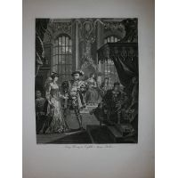 Enrico VIII & Anna Bolena - Hogarth / Heath 1822