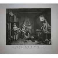Il poeta afflitto - Hogarth / Heath 1822