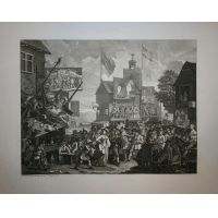 La fiera di Southwark - Hogarth / Heath 1822