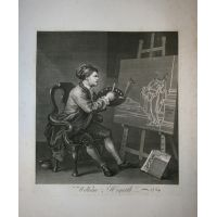 Ritratto di Hogarth - Hogarth / Heath 1822
