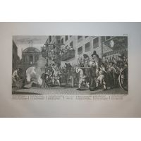 Hudibras Tav. XI - Hogarth / Heath 1822