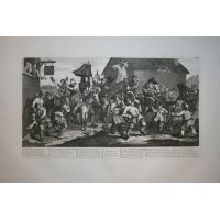 Hudibras Tav. XII - Hogarth / Heath 1822