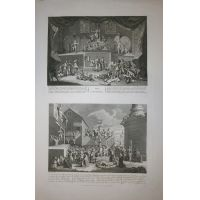 Lottery - Emblematical print of the South Sea scheme - Hogarth 1