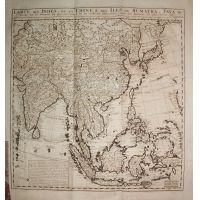 India Cina Korea Giappone Indonesia Filippine - Chatelain 1707